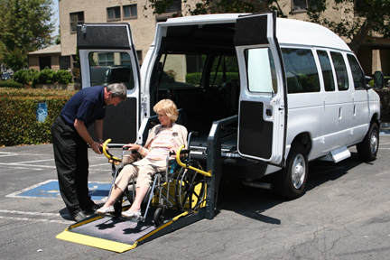 Share your Disabled adult transportation system